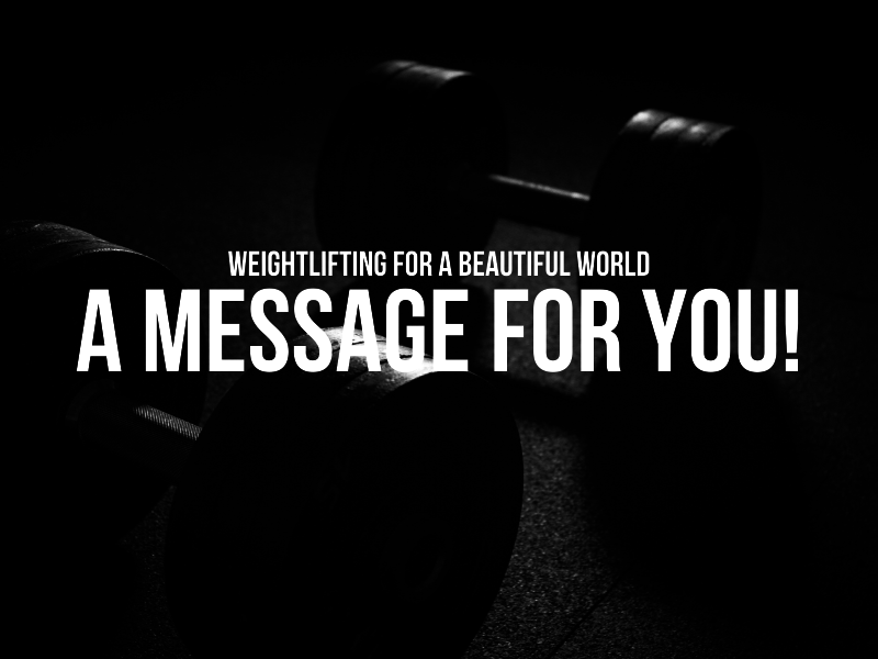 A Message For You!