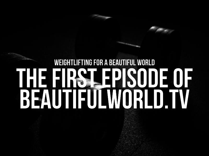 The first episode of BeautifulWorld.TV
