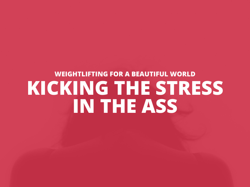 KICKING THE STRESS IN THE ASS